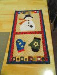 Snowman Wallhanging**