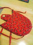 Back view of Fat Quarter Friend - Debbie Mumm fabrics